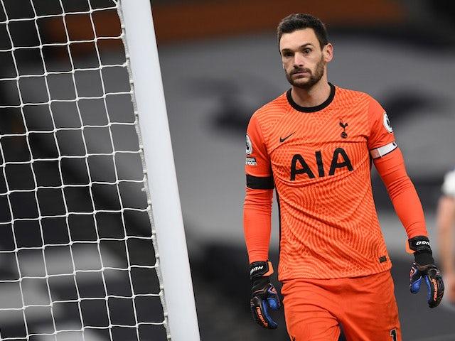 Tottenham Hotspur goalkeeper Hugo Lloris pictured on November 21, 2020