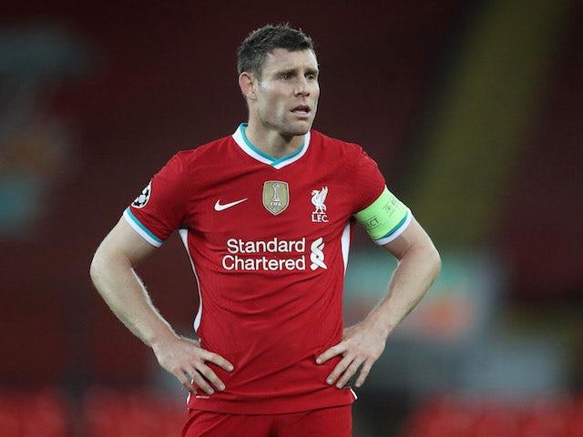 Liverpool midfielder James Milner pictured in November 2020