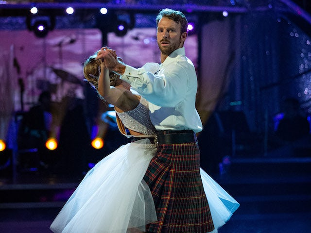 JJ Chalmers and Amy Dowden on Strictly Come Dancing week six