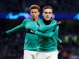 Dele Alli and Harry Winks in training for Spurs in April 2019