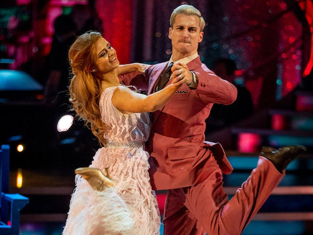 Maisie Smith and Gorka Marquez on Strictly Come Dancing week six