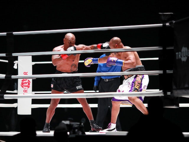 Result: Mike Tyson, Roy Jones Jr bout ends in a draw