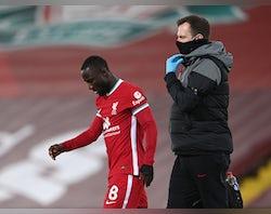 Liverpool injury, suspension list vs. Tottenham