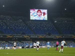 EL roundup: Napoli pay tribute to Diego Maradona ahead of Europa League clash