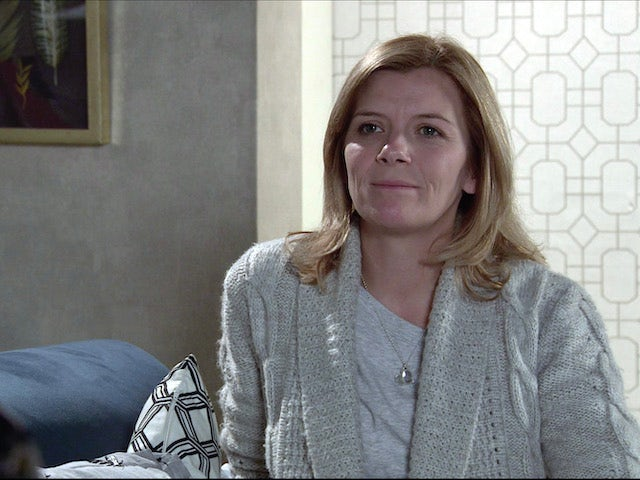 Leanne on Coronation Street on December 18, 2020