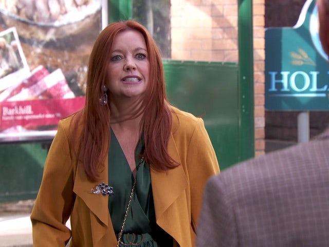 Diane on Hollyoaks on December 8, 2020