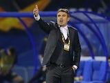 Dinamo Zagreb manager Zoran Mamic pictured in October 2020