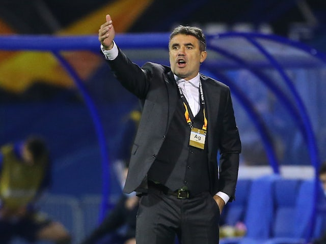 Dinamo Zagreb manager Zoran Mamic pictured in October 2020