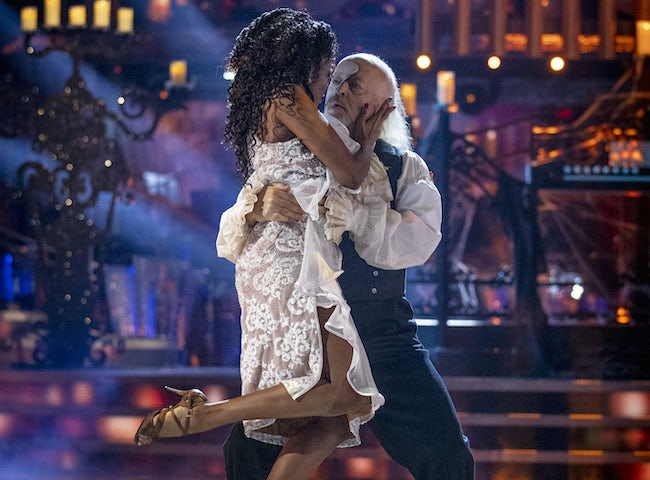 Bill Bailey and Oti Mabuse on Strictly Come Dancing week seven