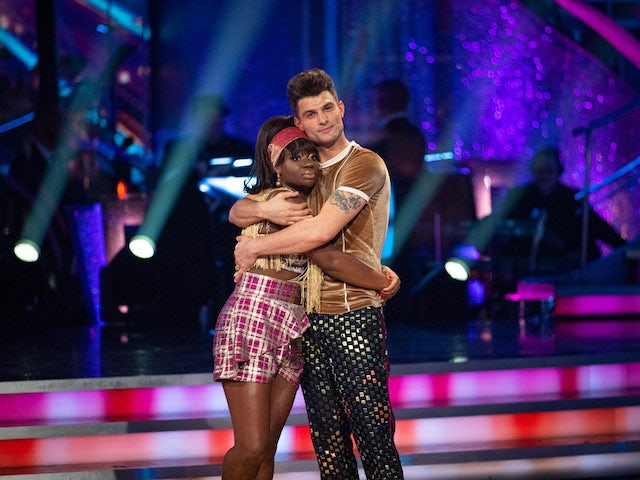 Another couple eliminated on Strictly Come Dancing