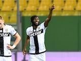 Gervinho in action for Parma in June 2020
