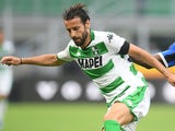 Gian Marco Ferrari in action for Sassuolo