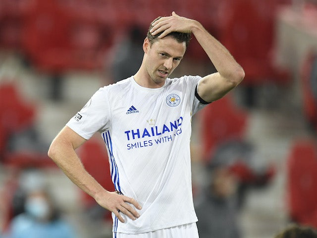Team News: Jonny Evans set to be fit for Leicester's clash with Newcastle