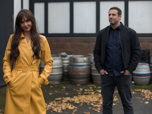 Warren and Mercedes on Hollyoaks on December 16, 2020