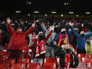 Liverpool welcome fans to Anfield for Wolves clash