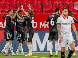 Real Madrid edge past Sevilla to ease pressure on Zinedine Zidane