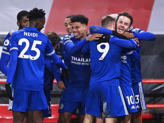 Result: Vardy hits late winner for Leicester at Sheffield United
