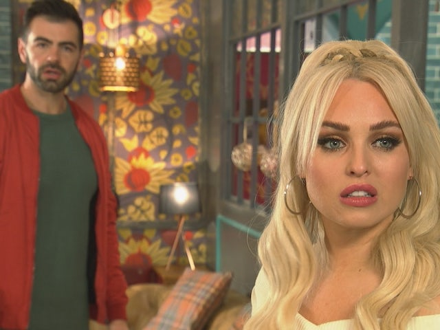 Theresa and Sylver on Hollyoaks on December 17, 2020