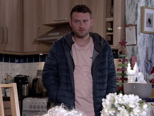 Paul on the second episode of Coronation Street on December 23, 2020