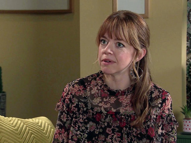 Toyah on Coronation Street on December 30, 2020