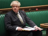Boris Johnson appears at PMQs on December 9, 2020