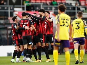 Dominic Solanke bags brace as five-star Bournemouth thrash Huddersfield