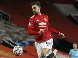Bruno Fernandes in action for Manchester United on December 2, 2020