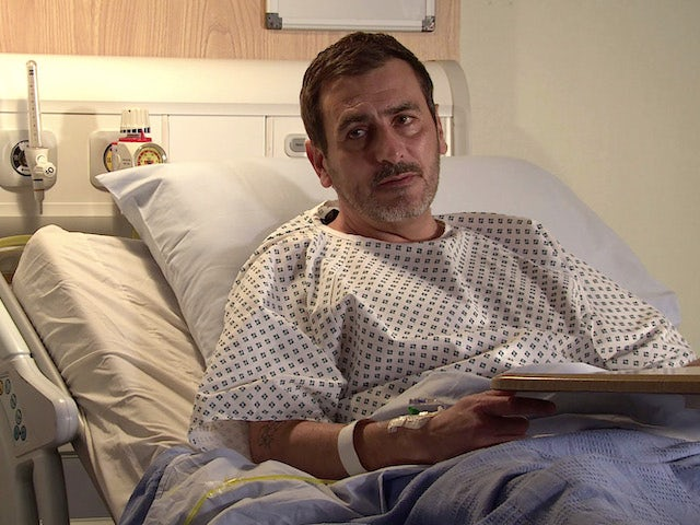 Peter on Coronation Street on December 30, 2020