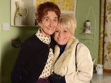 June Brown and Barbara Windsor on EastEnders