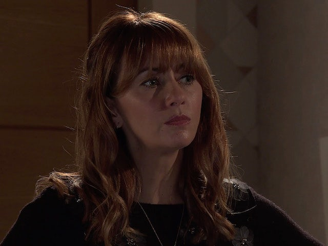 Maria on the second episode of Coronation Street on December 21, 2020