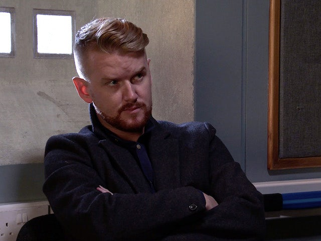 Gary on the first episode of Coronation Street on December 23, 2020