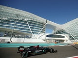 Lewis Hamilton pictured during practice for the Abu Dhabi Grand Prix on December 11, 2020