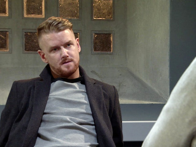 Gary on Coronation Street on New Year's Day, 2021