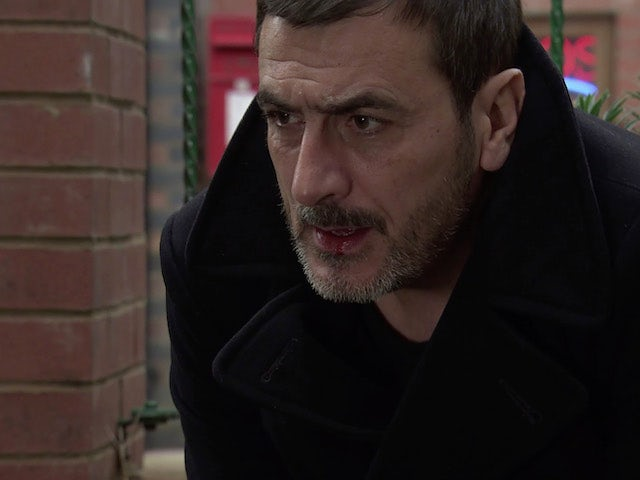 Peter on Coronation Street on December 28, 2020