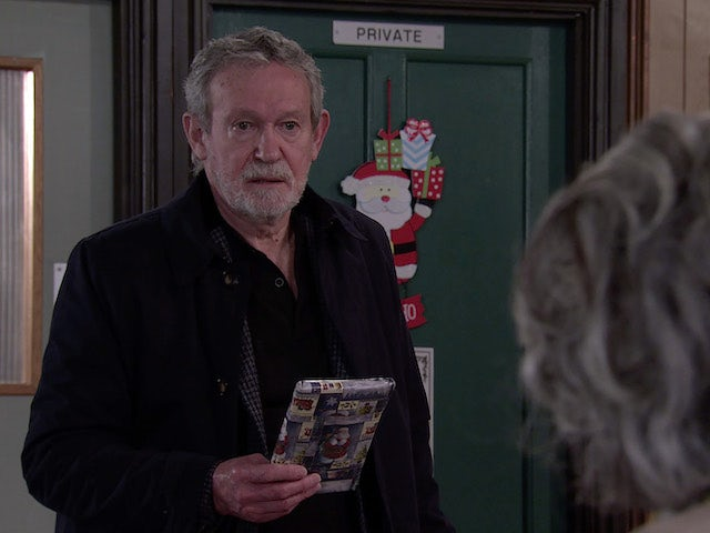 Arthur on Coronation Street on December 30, 2020