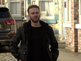 David on the first episode of Coronation Street on December 21, 2020