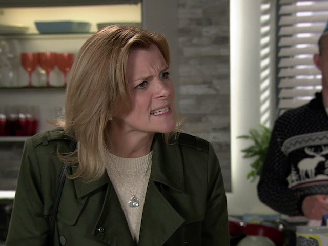 Leanne on the first episode of Coronation Street on December 23, 2020