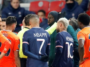 PSG's clash with Istanbul to be completed on Wednesday after alleged racism