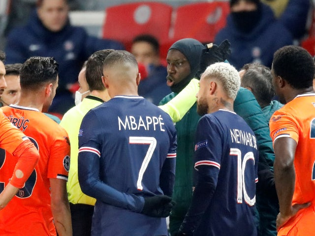 PSG's Champions League clash with Basaksehir suspended after alleged racism