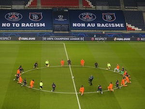 CL roundup: PSG, Istanbul players show united front against racism