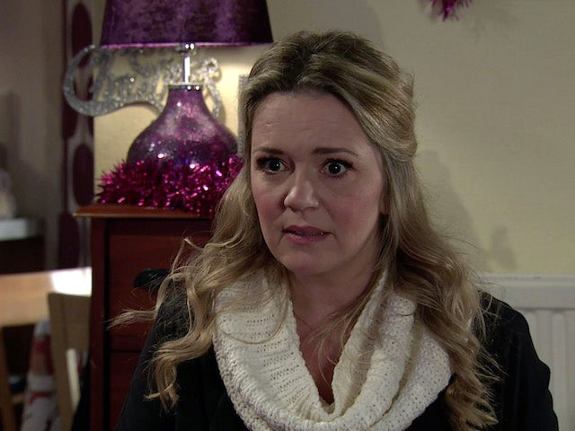 Natasha on the second episode of Coronation Street on December 21, 2020