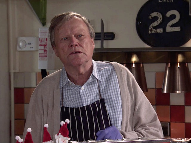 Roy on Coronation Street on December 28, 2020