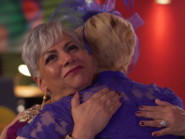 Misbah and Marnie on Hollyoaks on December 28, 2020