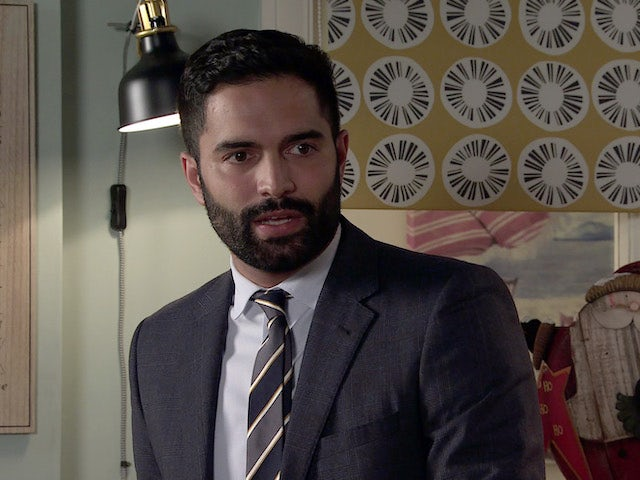 Imran on Coronation Street on December 30, 2020