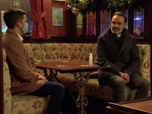 Todd and Billy on the second episode of Coronation Street on December 21, 2020