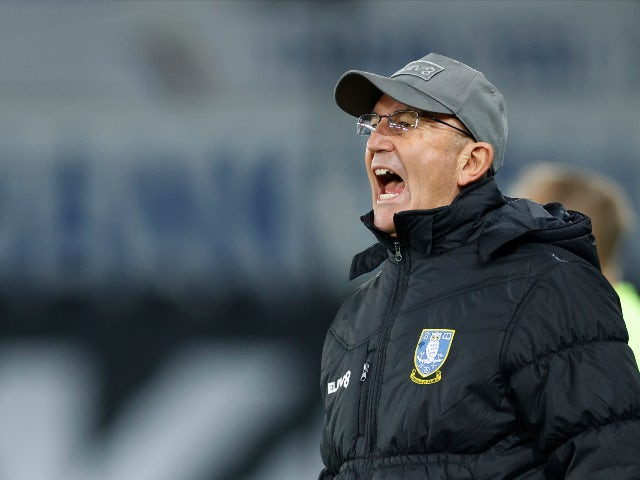 Sheffield Wednesday manager Tony Pulis pictured in November 2020