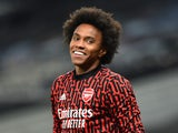Arsenal attacker Willian pictured in December 2020