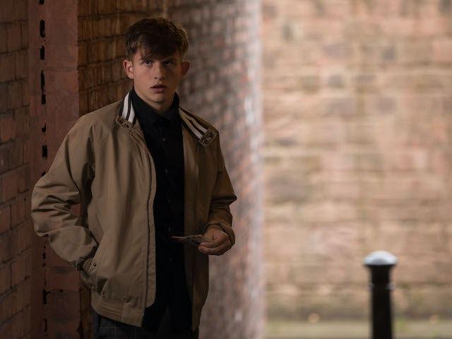 Charlie on Hollyoaks on December 28, 2020