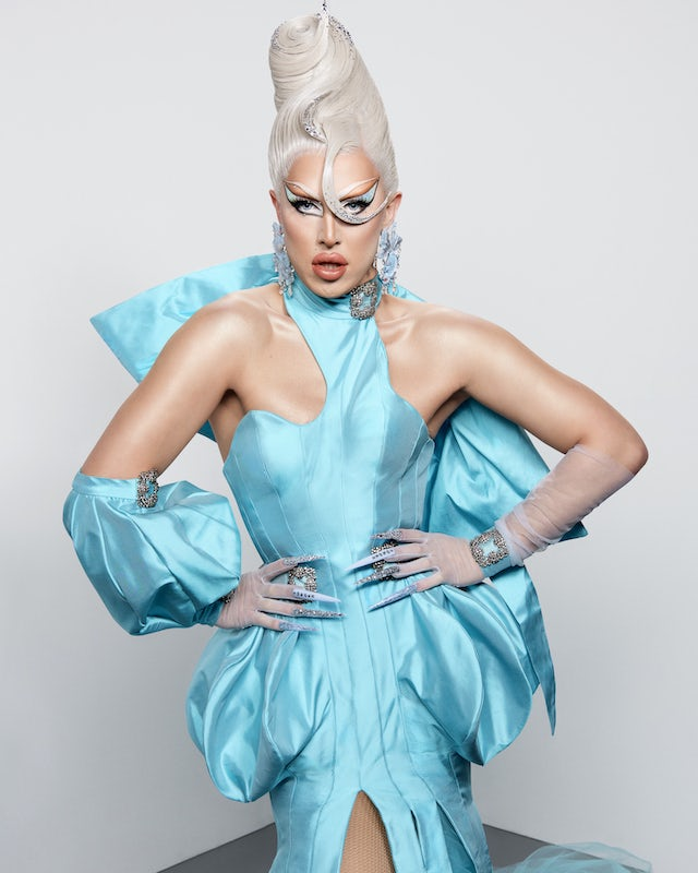 A'Whora on series two of RuPaul's Drag Race UK
