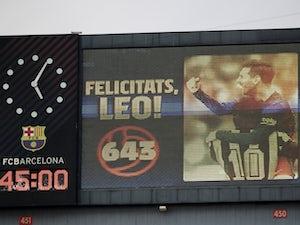 European roundup: Messi equals Pele record, Lyon go top of Ligue 1